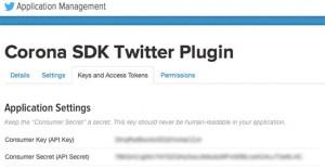Twitter Plugin for Corona SDK – Jason Schroeder App Designs